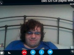 GREG ANTEAU MASTURBATING ON SKYPE