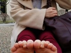 20-yr old Japanese University Student's Size 23cm Soles