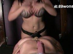 Alexandra Snow Ultimate hands free orgasm