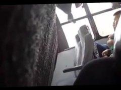 Spy Brazil Bus Wank