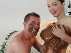 Lucie Wilde - Chocolate Titjob
