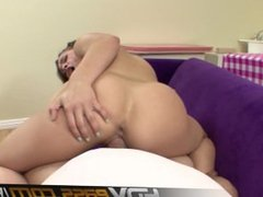 HDVPass Petite Teen Kristina Rose Sucks Cock Before Getting Pounded Hard