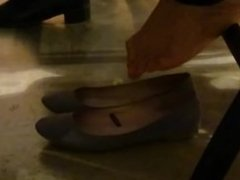 Candid Feet in Flats Part 3