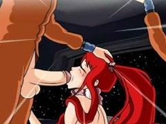 Hentai sex game Sex in zero gravity