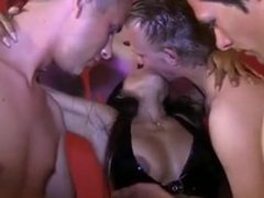 www.punishedbabe.com Thai babe gets gangbanged
