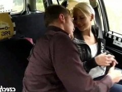 I ensnared a young blonde in Prague taxi