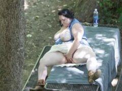 Curious Clover Voyeur Masturbation at Riverfront Park