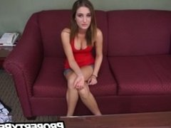 Sleazy landlord homemade porn with hot tenant teen