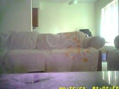 couples hidden camera caught having sex on couch