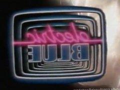 Electric Blue Theme - Classic 80's porn