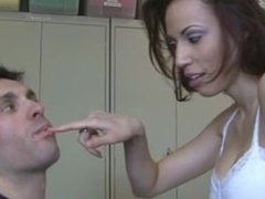 spitting and snot femdom