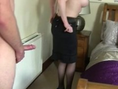 MILF convinced to get fucked