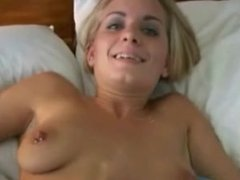 Cumming All Over her Belly - POV Sex Video