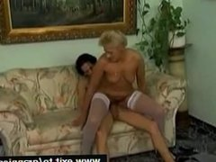 Granny gets Her Some Young Cock