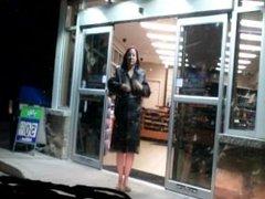 Public flash at a gas station