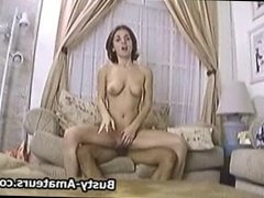 Busty Sara sucking and fucking cock