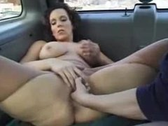 hot milf from milfsexdating.net fisted and fucked in a car