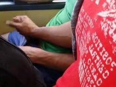 pajeado en el bus
