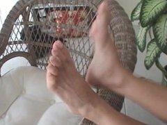 Mature lady feet