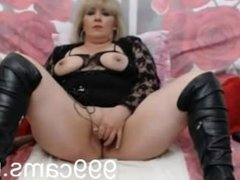 BLONDE MATURE ON WEBCAM - 999cams.net