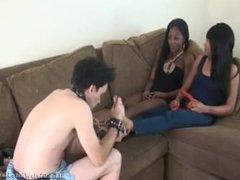 Beautiful Ebony Mistress Foot Massage