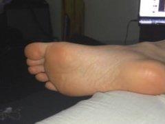 Foot Fetish Gf high arches 5