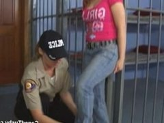 pissed off teen gets fingered by cop
