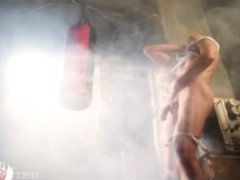 Boxing is perfect way to big erection - strong erect dick is guaranteed!