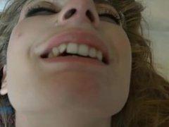 Ela gets a cum facial on your last day in N.Y