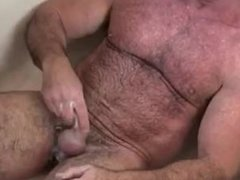 Hot Daddy Jacking Off In The Shower