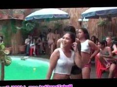 PINAY WET TSHIRT CONTEST - Filipinas at Resort Big Tits and Small Tits Asia