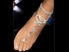 Fotos de pies con anillos