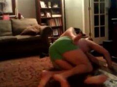Str8 Guys Just Wrestle in Underwear, One Guy Balls Pop Out