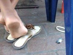 pies de niña de 13 años venezolana