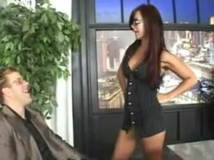 Sexy Babe has Sex in Office