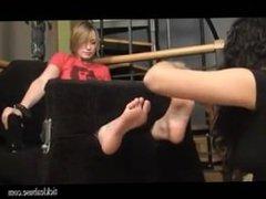 Ticklish Feet 1