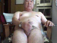 Japanese old man.