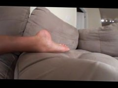 Jennifer Feetup on Couch