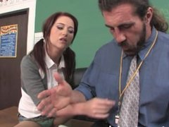 Hot Teen Seduces Her Soccer Coach After Class!