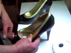 cum in heels compilation