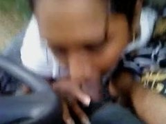 tamil girl blowjob in a van.