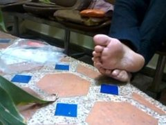Venezuelan lady feet