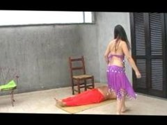 Training for A Hard Fakir Performance (extreme trampling)