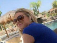 Oiled PAWG teen Jessa Rhodes fucked hard