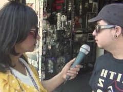 Snow Leopard Hollywood Boulevard ON AIR with Yeena Fisher