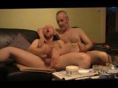 Adult Males Edging and Masturbating