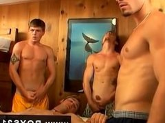 Gay movietures cumming in mouth One by one, Jeremiah, Riley & Mike all