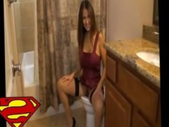 Step-mom caught in toilet 1fans-like.com/porn4u