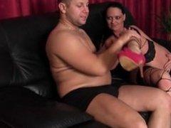 Foot smelling erotic milf