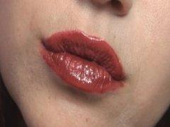 Sarah Blake Femdom - Kiss Fetish and Lipstick Fetish - Pucker up!